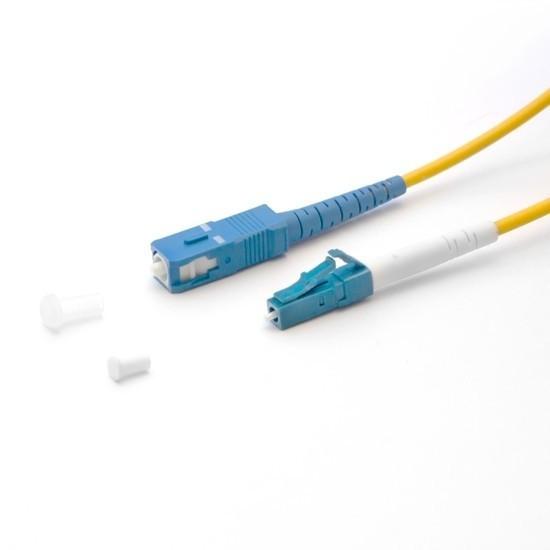 Патч Корд Оптоволоконный 2SC/UPC-2LC/UPC SM 9/125 Duplex 3.0мм 1 м