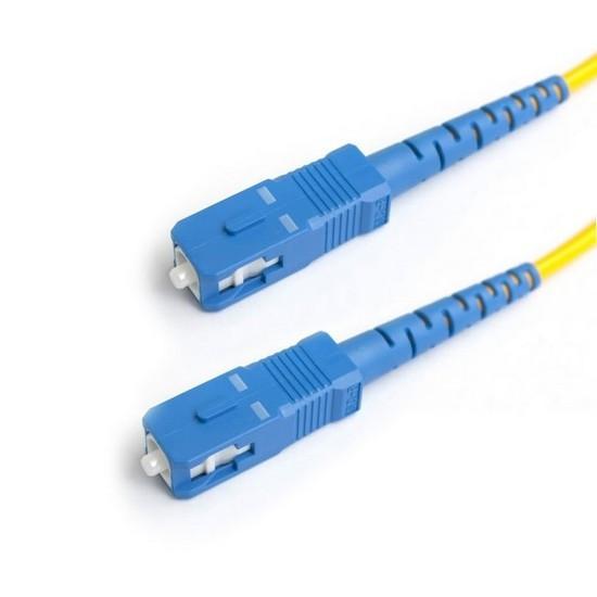 Патч Корд Оптоволоконный 2SC/UPC-2SC/UPC SM 9/125 Duplex 3.0мм 0.5 м