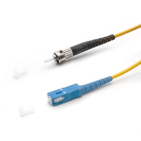 Патч Корд Оптоволоконный 2SC/UPC-2ST/UPC SM 9/125 Duplex 3.0мм 0.5 м