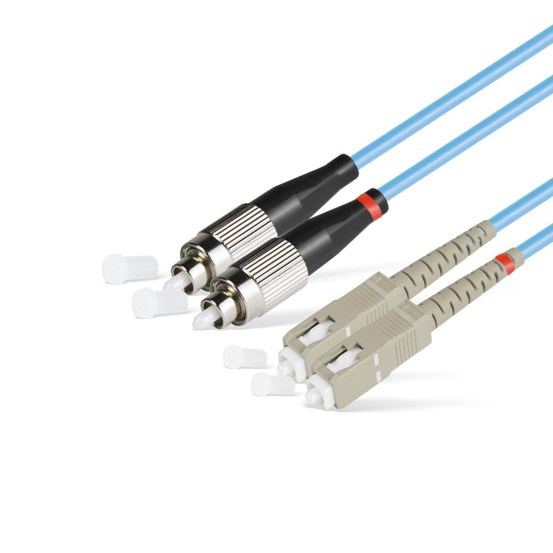 Патч Корд Оптоволоконный SC/UPC-FC/UPC MM OM3 50/125 Duplex 3.0мм 1 м