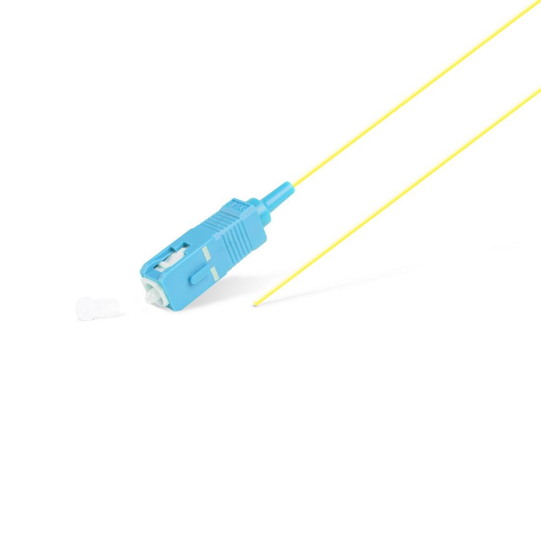 Пигтейл Оптический SC/UPC SM 9/125 0.9мм 1.5 м