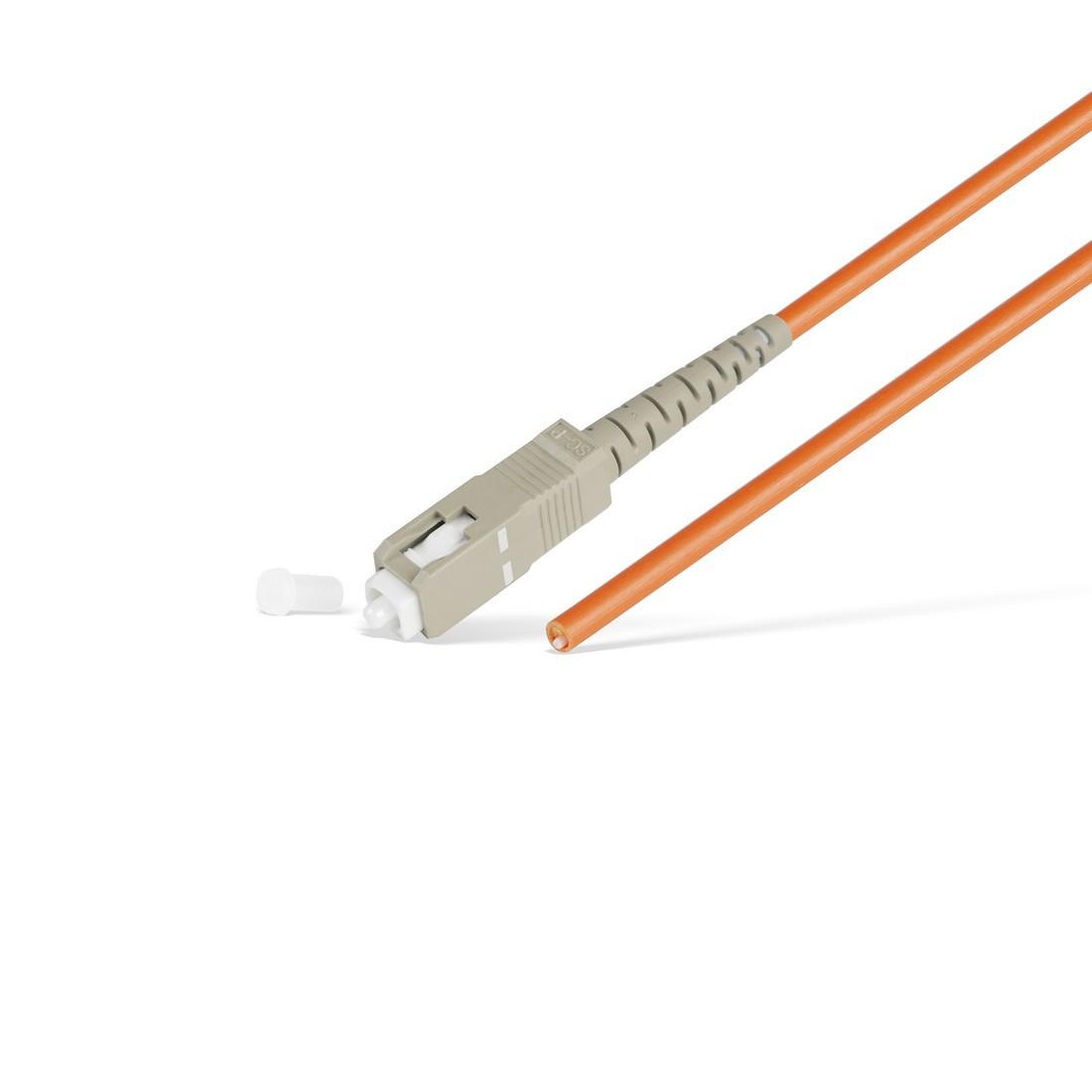 Пигтейл Оптический SC/UPC MM OM1 62.5/125 3.0мм 1 м
