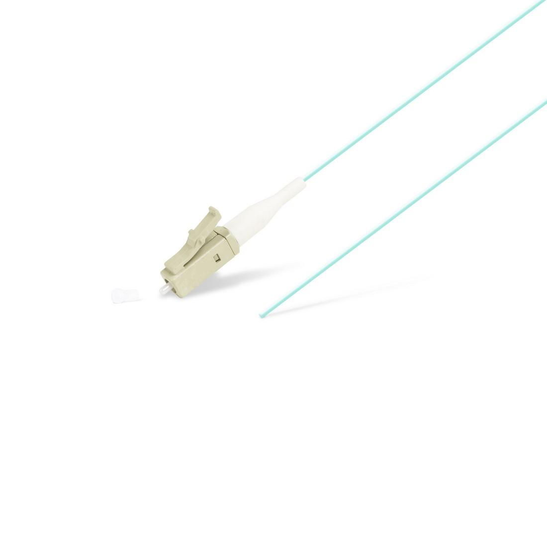 Пигтейл Оптический LC/UPC MM OM3 50/125 0.9мм 1.5 м
