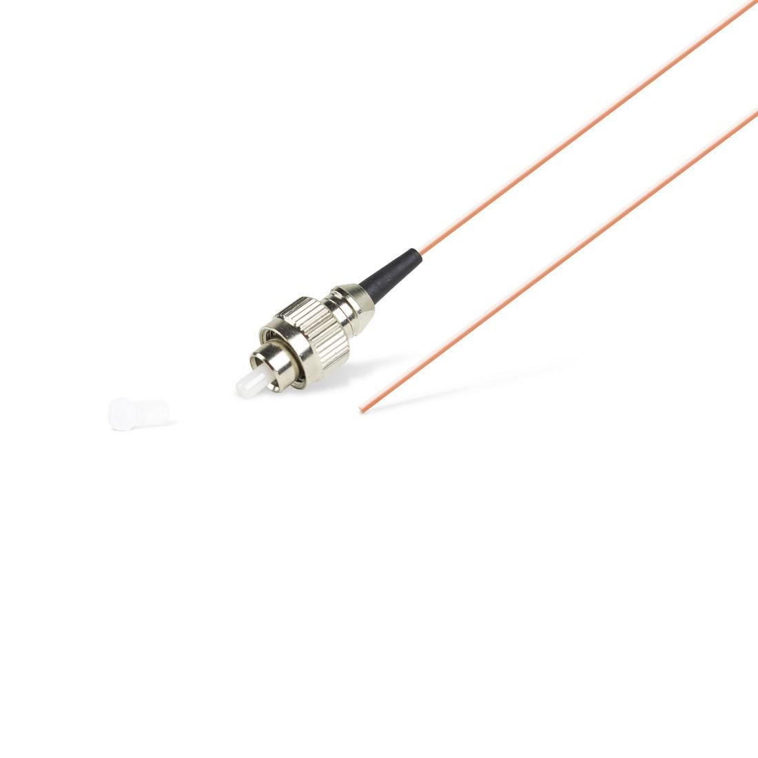 Пигтейл Оптический FC/UPC MM OM4 50/125 0.9мм 1.5 м