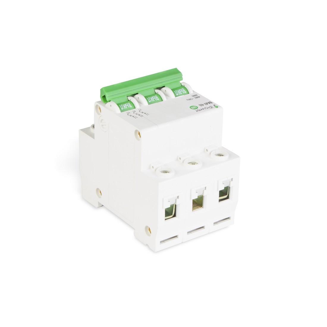 Автоматический выключатель реечный iPower ВА47-63 3Р 40А - фото 3