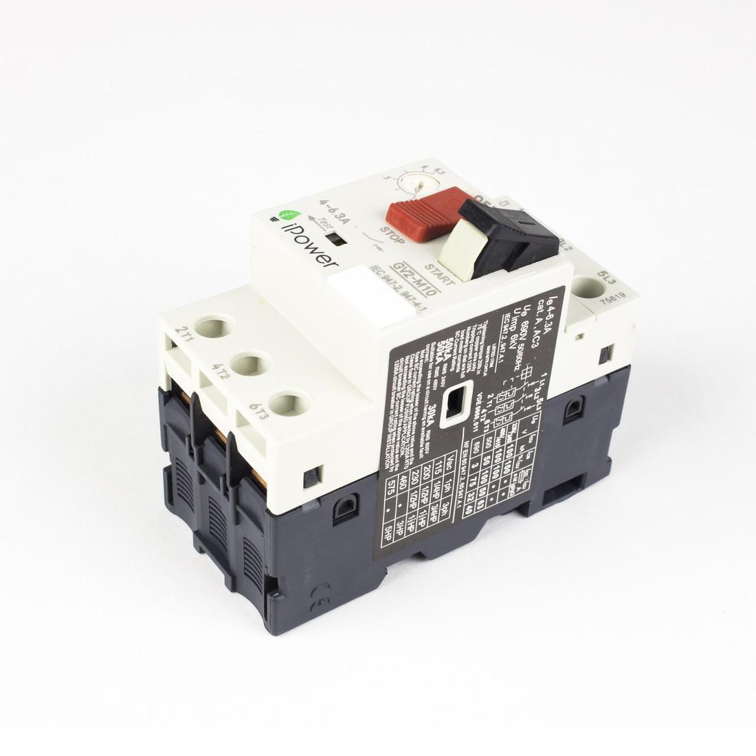 Автомат защиты двигателя iPower GV2-M06 (1-1.6A) - фото 3