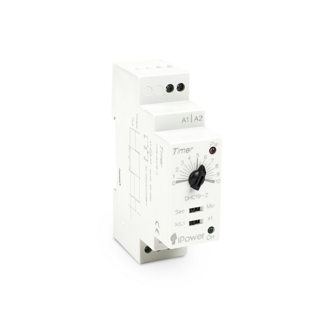 Реле времени iPower DHC19-2 AC 110-220V