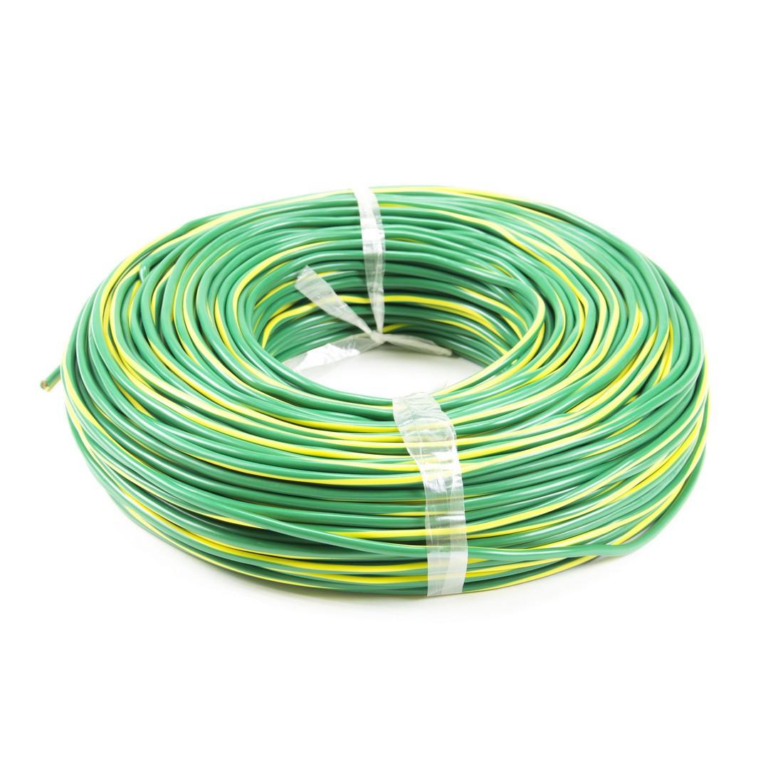 Провод монтажный iPower RV 1х2.5 жёлто-зелёный