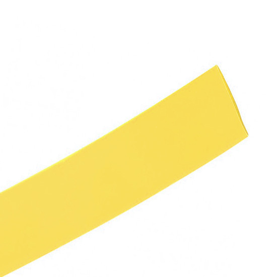 Трубка термоусаживаемая Deluxe DRS 16/8 желтая