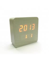 Электронные часы в деревянном корпусе VST-872S красные цифры