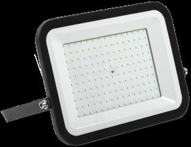 Прожектор СДО 06-150 светодиодный черный IP65 6500K IEK