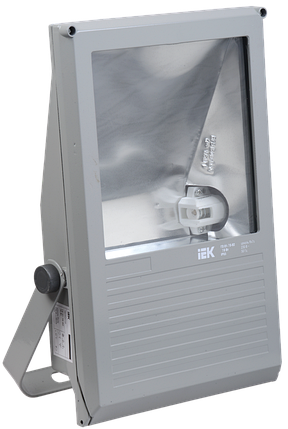 Прожектор ГО04-250-01 250Вт E40 серый симметричный IP65 ИЭК, фото 2
