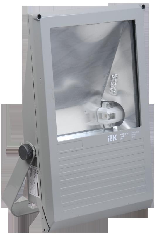 Прожектор ГО03-250-01 250Вт E40 серый симметричный  IP65 ИЭК
