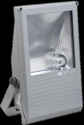 Прожектор ГО03-250-01 250Вт E40 серый симметричный  IP65 ИЭК, фото 2
