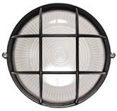 Светильник НПП1306 черный/круг сетка 60Вт IP54  ИЭК