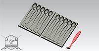 Art20034_приманка с формы визуально похожа на_KEITECH EASY SHINER - 113 mm