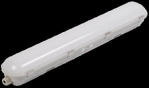 Светильник ДСП 1702 180Вт  IP65 КСС-Ш, 1500*80*75,сереб, IEK, фото 2