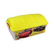 """Контейнер для игрушек """"Сундук"""" (Формула-2) 30 л для мальчиков, М4247"""