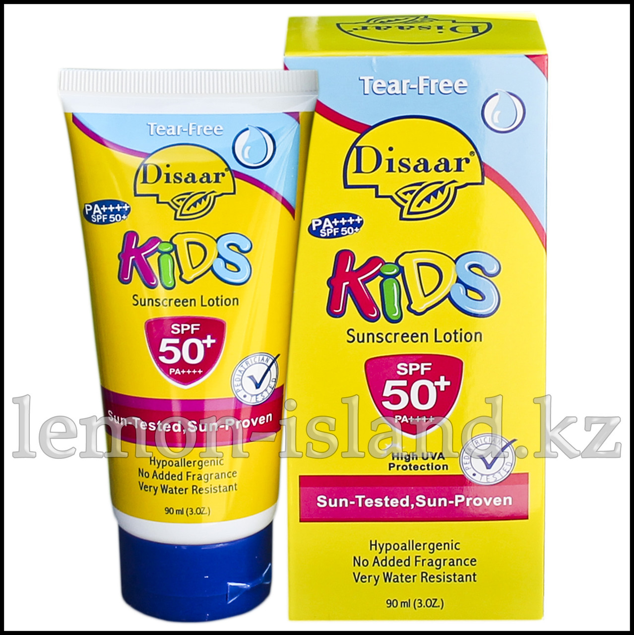 Крем солнцезащитный для лица и тела Disaar, детский.