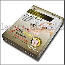 Носочки педикюрные для пилинга с экстрактом улитки.