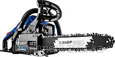 Пила цепная бензиновая, ЗУБР Профессионал ПБЦ-380 35П,37,2 см3 (1,4 кВт), шина 35 см, 10800 об/мин, фото 2