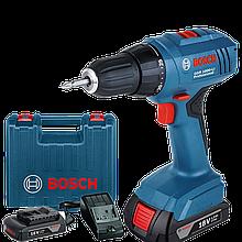 Шуруповерт аккумуляторный GSR 1800- LI Bosch