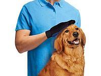 Перчатки для вычесывания шерсти домашних животных TRUE TOUCH. Алматы, фото 1