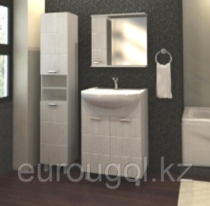 Тумба для ванной комнаты WaterWorld Квадро 800 мм, 3 двери