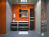 Тумба с раковиной для ванной комнаты WaterWorld Лайн 600 мм, 2 ящика, фото 2