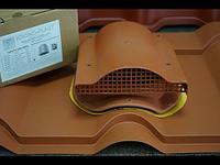 Вентиль (аэратор) KRONO-PLAST для профиля KRONA, Дюна , Фортуна , Андалузия (бочкообразные МЧ), фото 1