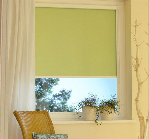 Ролл шторы Алфа (зеленный), фото 2