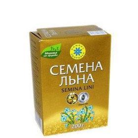 Семена льна, 200 г (Компас здоровья)