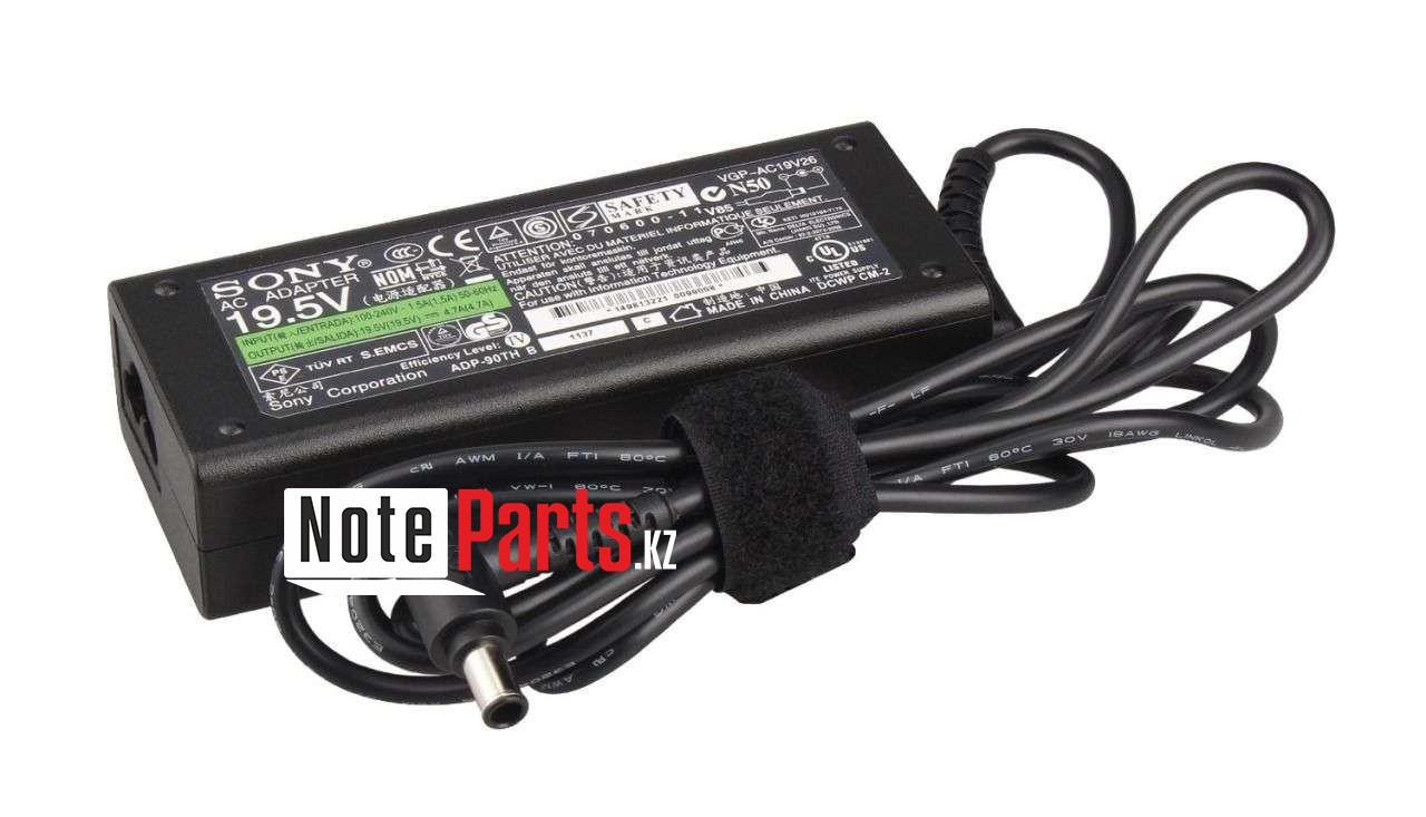 Зарядка для ноутбука Sony 19,5V 4,7A (90W) 6x4,4мм с иглой
