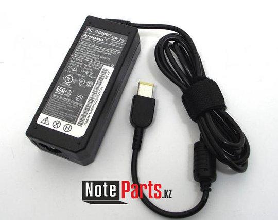 Зарядка для ноутбука Lenovo 20V 3.25A (65W) прямоугольный разъем, фото 2