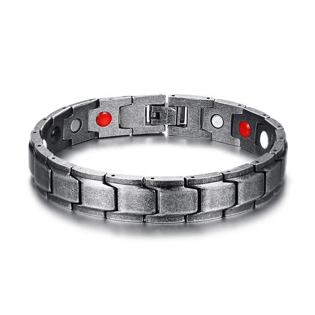 Магнитный браслет N 26 - Вставка 4/1 :магнит,германий,инфракрасные лучи,отрицательные ионы.