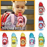 Поильник с трубочкой Skip Hop Zoo Straw Bottle