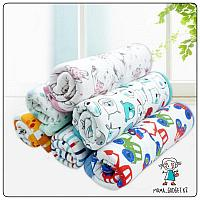 Трикотажное одеяло детское