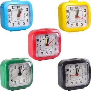 Настольные часы - будильник 7*7*3 см