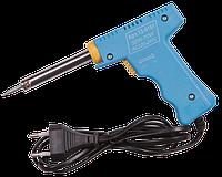 Паяльник пистолет импульсный TLW-A-008 30-70W с канифолью и оловом