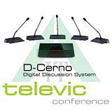 Televic D-Cerno проводная дискуссионная система