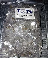 Коннектор медный Lanmaster (TWT-PL45-8P8C) UTP RJ45 кат.5e (упак.100 шт)