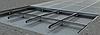 Решетка придверная стальная оцинкованная 490х990мм, фото 4
