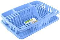 """Сушилка для посуды """"Фланто"""" 508*338мм (фиолетавя) С488ФИЛ"""