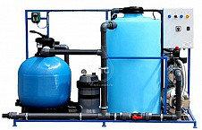 Системы очистки воды на 2 моечных поста