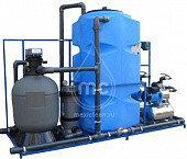 Системы очистки воды на 4 моечных поста
