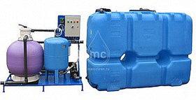 Системы очистки воды на 15 моечных постов