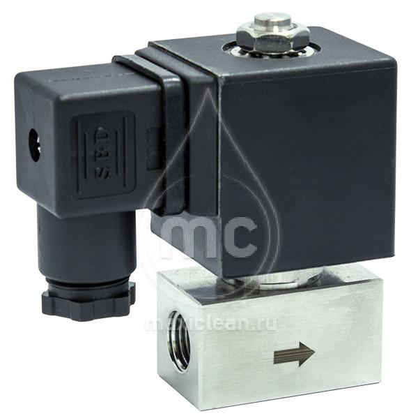 SV inox 2 Магнитный вентиль c розеткой 0 - 200 bar.(230 V ~ 50 Hz)