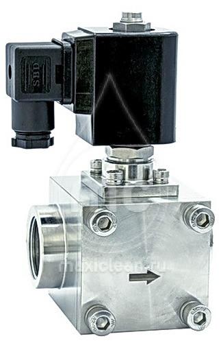 SVBA inox 15 Магнитный вентиль c розеткой 6- 160 bar.(230 V ~ 50 Hz)