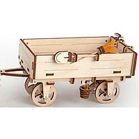 3D-конструктор Прицеп к трактору, фото 1