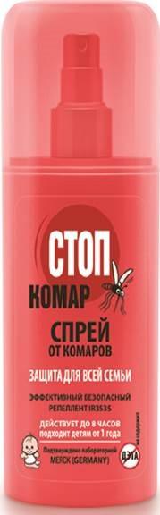 Спрей от комаров «Стоп Комар»